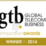 """MEGA Sistemas galardonada en Londres como Proyecto Innovador 2014 por la revista """"GLOBAL TELECOMS BUSINESS"""""""