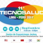 Participación en la 11ª feria Internacional Tecnosalud - 2017 en Perú