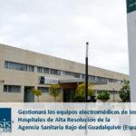 Mansis gestiona los equipos electromédicos de los Hospitales de Alta Resolución de la Agencia Sanitaria Bajo del Guadalquivir (España)