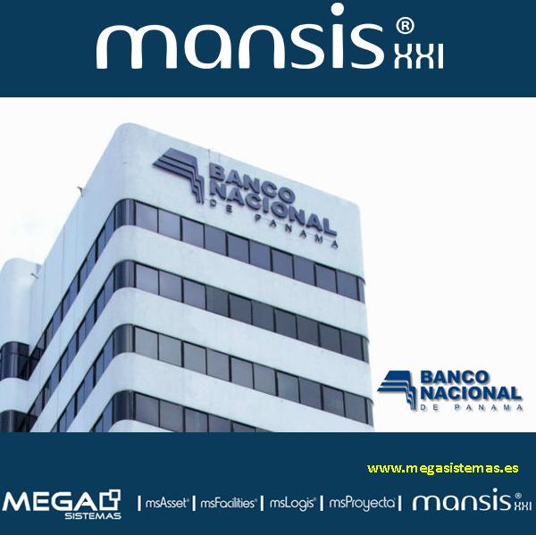 El Banco Nacional de PANAMA ha finalizado con éxito la implantación de MANSIS XXI como Sistema de Gestión Integral de Activos Corporativos