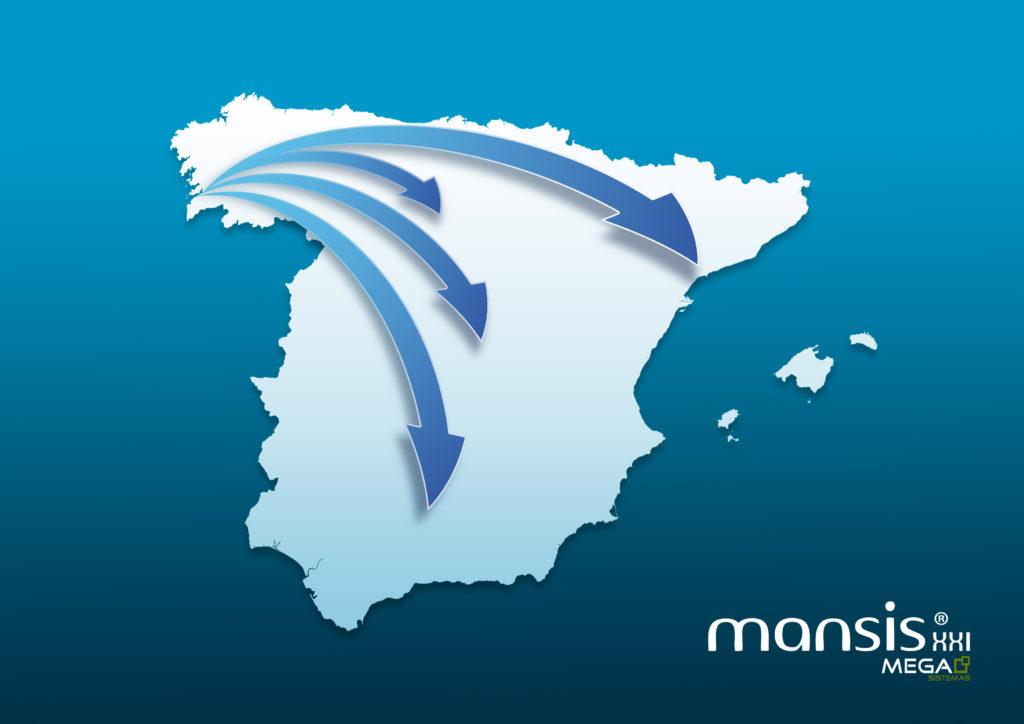 Start of the expansion in Spain